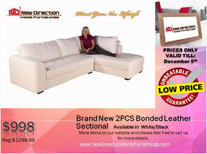 ◆BLACK FRIDAY WEEK! Brand New 2PCs CORDUROY Sectional@NEWD Edmonton Edmonton Area image 4