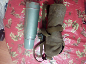 FOR SALE ARMY THERMOS PACK  WITH THERMOS ONLY 15.00