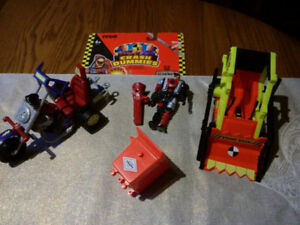 Crash Dummy and Vehicles from 1992.
