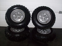 2012 arctic cat 24'' oem tires and rims