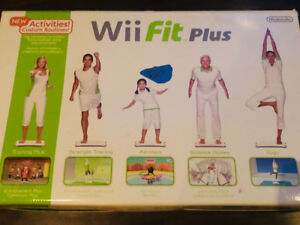Wii Fit Plus like new!!!!