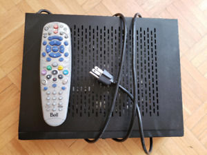 BELL HD Satelite Receiver 6131 with dish