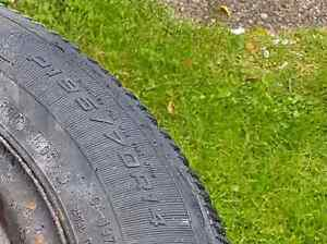 2 Studded Winter Tires For Sale