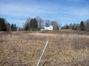 Century home on 100 acres close to Digby NS