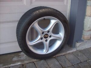 TIRES AND MAG WHEELS