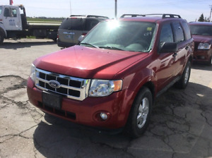 Saftied 2010 Ford escape XLT