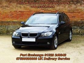 2008 08 BMW 3 SERIES 2.0 318D SE TOURING 5D 141 BHP DIESEL