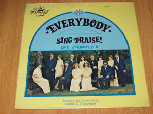 """Everybody Sing Praise"", New Life II - Rare 1978 Christian LP!"