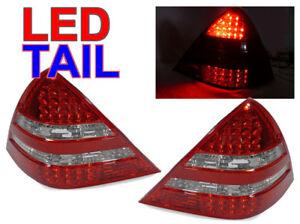DEPO Red/Clear LED Tail Lights For 98-04 Mercedes Benz R170 SLK230 SLK320/SLK32