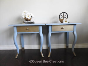 Side Tables - Pair