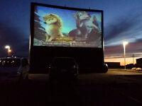 Screen Technician at Drive-In theatre