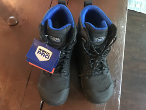Work Pro Safety Boots Black Size 8