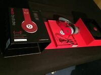 Dr dre solo HD headphones special edition red