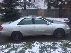 2002 Toyota Camry LE ** PRICE NEGOTIABLE**