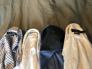 men s barely worn clothing