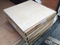 Light cream beige floor tiles 6m2 porcelain