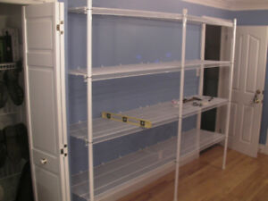 "8 Steel Shelves 4'x20""- Tightmesh"