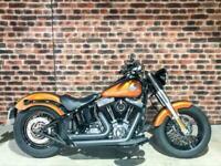 2014 Harley-Davidson SOFTAIL FLS SLIM FLS Vivid black (14MY) Custom Petrol Manua