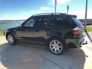 2007 BMW X3 E83 MY07 2.5SI Black 6 Speed Auto Steptronic Wagon Cleveland Redland Area Preview