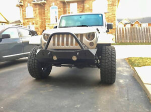 Jeep JK - Trail Master Front Winch Bumper - Black Widow Gear
