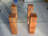 Timber & Steel Table