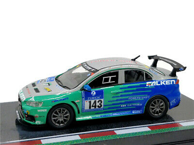 Tarmac Works 1:64 Mitsubishi Lancer Evo X #143 Diecast Model Car
