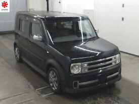 2007 (07) NISSAN CUBE CUBIC Rider AUTECH 1.5 Automatic 7 Seater MPV Black