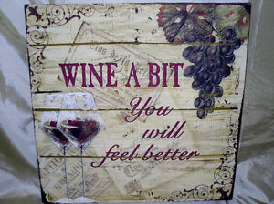 """Sale $7.00 """"wine a bit, you will feel better"""" picture"""