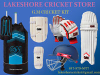 Full G.M Cricket Kit for Sale by Lakeshore Cricket Equipment
