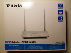 Tenda N300 Router - Works with Some 3G/4G Cellular Modems