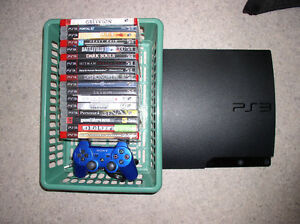 Sony PS3 with 17 Games 150 MB