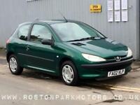 2002 PEUGEOT 206 1.1 Style 3dr new MOT ideal 1st car