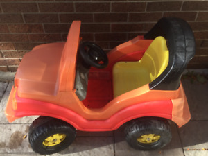 Child's Electric Dune Buggy 4X4