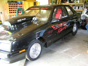 1992 DODGE SHADOW DRAG CAR   NEW PRICE