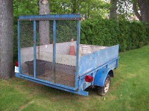TRAILER FOR SALE WITH OWNERSHIP(GREAT SHAPE)