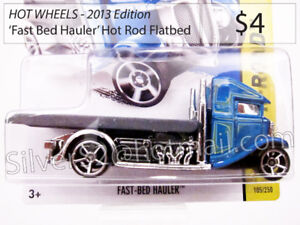 = \ HOT WHEELS '2014 Ed. 'FastBed Hauler' Flatbed Tow Truck / =
