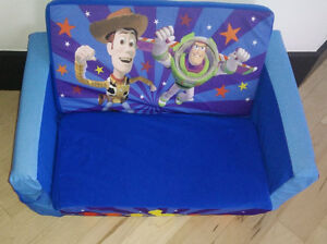 Toy Story pull out foam sofa