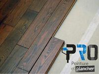 Instalation ou sablage de plancher