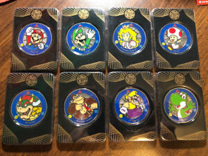 Selling Super Mario Complete Silver Challenge Coin Series