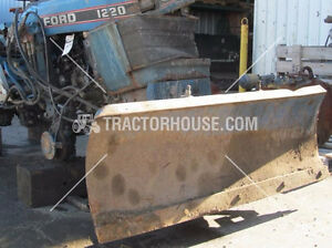 FRONT MOUNT SNOW PLOW FORD COMPACT TRACTOR