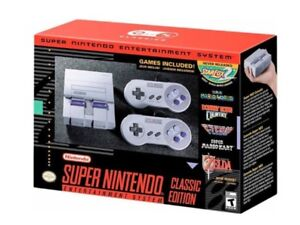 SNES Classic with wireless controller