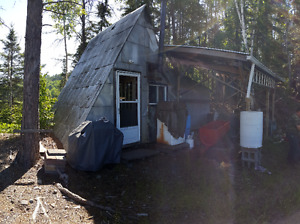 Hunt Camp for Sale on Leased Crown Land