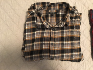 George Brown Plaid shirt