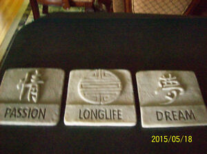 Asian wall plaques Windsor Region Ontario image 1