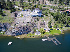 Lakefront Estate With Endless Potential!