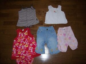 Gap Summer Clothing, Size 3-6 months