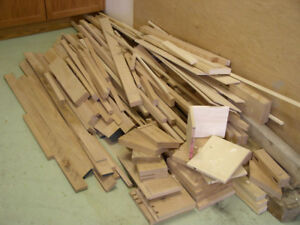 Free Drop Site for Lumber Off-Cuts and Leftover Wood Etc.