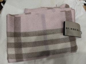 Burberry Pink Plaid Scarf *Never Worn with Tags!*