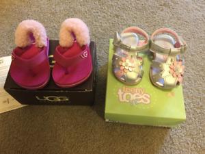 Baby Ugg sandal lot