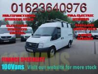 FORD TRANSIT 2.2TDCi DURATORQ 85PS 260S MED/ROOF SWB WITH EASY LOAD LADDER RACK